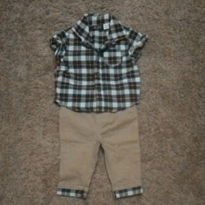 Baby boy Children's Place outfit